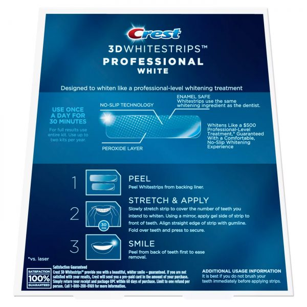 Crest 3D White Professional Effects 2019 (2)