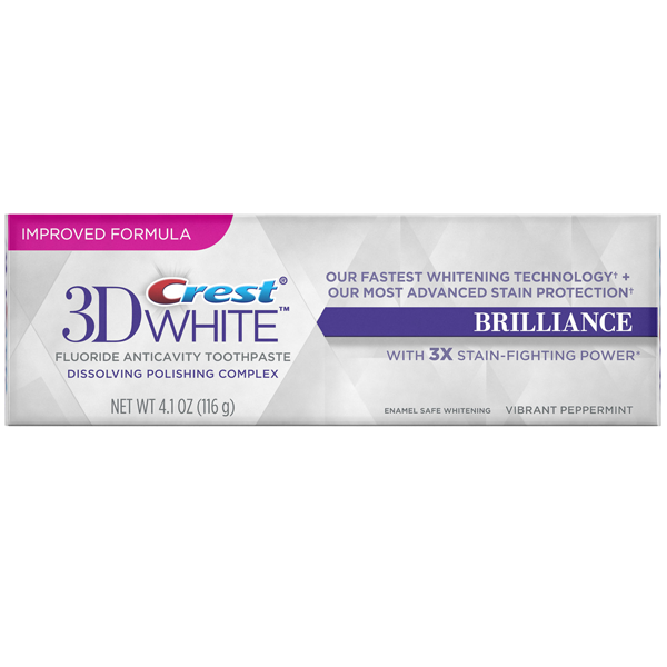 Toothpaste Crest 3D White Brilliance horiz