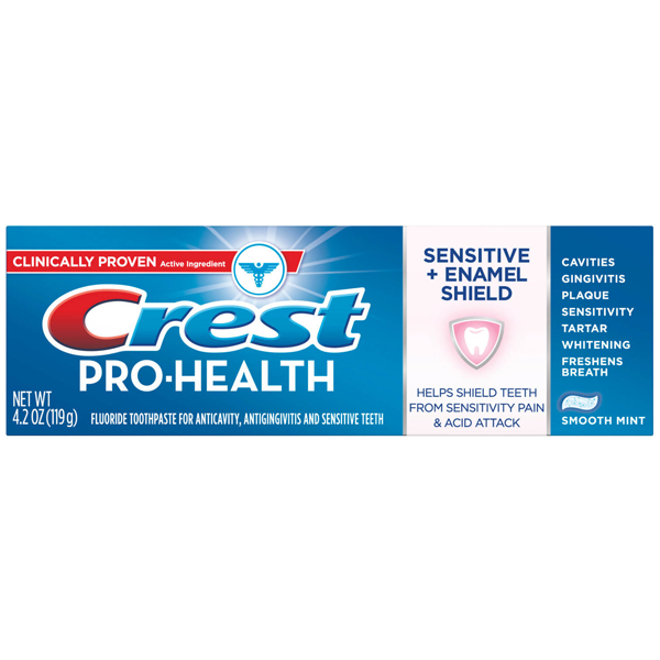 Toothpaste Crest Pro-health Sensitive and Enemel Shield horizon