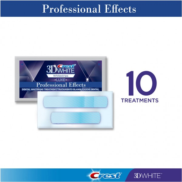 10 Crest 3D White Professional Effects 2