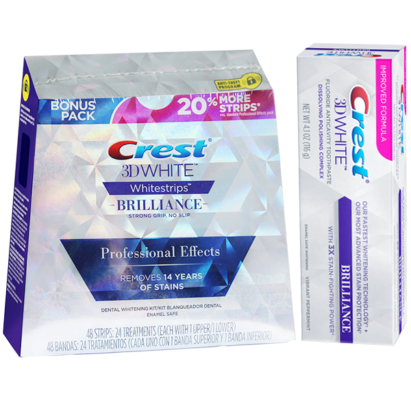 Crest 3D White Combo Professional Brilliance