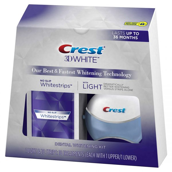 Crest 3D White Whitestrips with Light 2