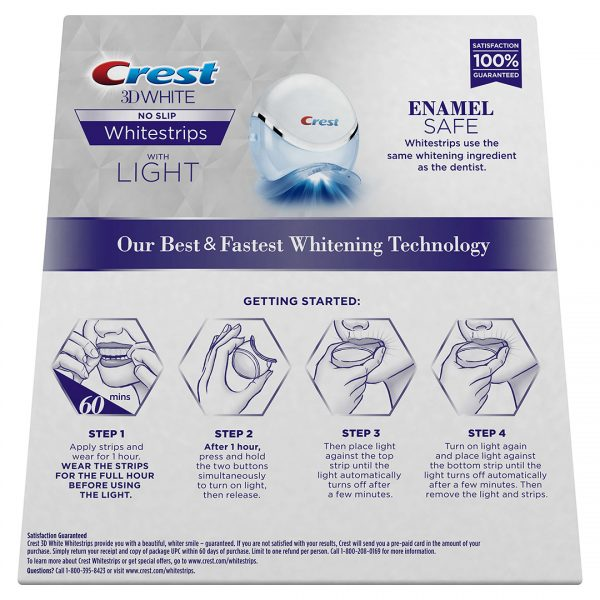 Crest 3D White Whitestrips with Light 4